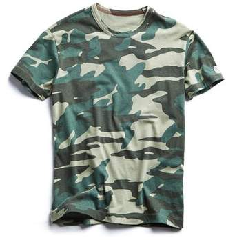 d377575cbcf Todd Snyder + Champion Oversized Camo Tee in Olive Grove