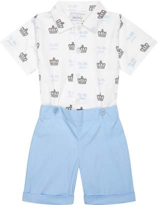 Rachel Riley My Little Prince Playsuit