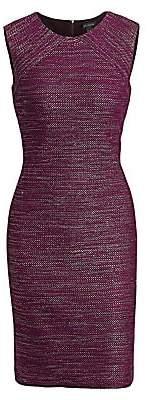 St. John Women's Tweed Sheath Dress