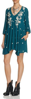 Free People Sweet Tennessee Embroidered Dress $148 thestylecure.com