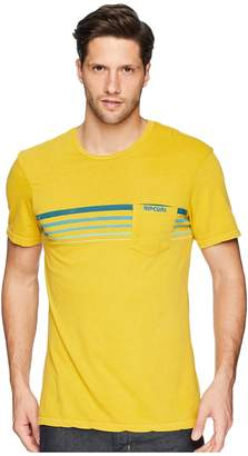 Rip Curl Rubber Soul Custom PKT Tee Men's Clothing