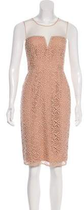 ALICE by Temperley Embroidered Knee-Length Dress w/ Tags