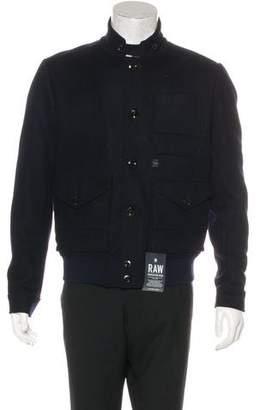 G Star Rivo Wool Bomber Jacket w/ Tags