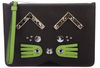 Marc by Marc Jacobs Studded Cat Clutch w  Tags b19d8cf3d5eb1