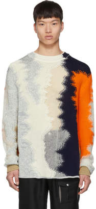 Jil Sander Multicolor Knit Sweater