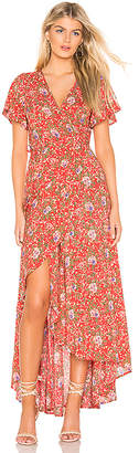 Ophelia AUGUSTE X REVOLVE Muse Wrap Maxi Dress