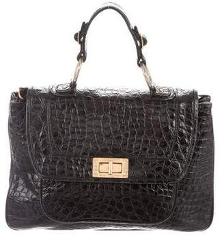 Rebecca Minkoff Embossed Leather Covet Satchel
