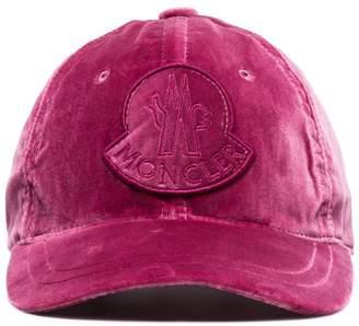 Moncler velvet cap