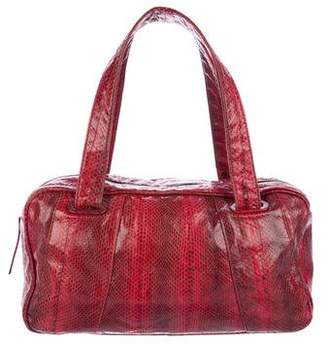 Beirn Snakeskin Shoulder Bag