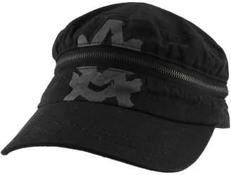 A. Kurtz Morehats Zippered Cotton Army Casual Baseball Cap Adjustable Hat