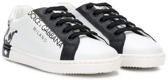 Dolce & Gabbana crown logo sneakers