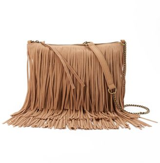SONOMA Goods for LifeTM Marguerite Fringed Crossbody Bag $60 thestylecure.com