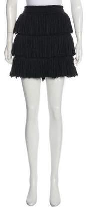 Lanvin Tiered Mini Skirt w/ Tags