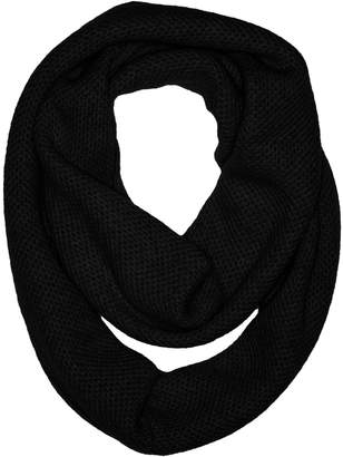 Sofia Cashmere Women's 100 Percent Cashmere Honeycomb Infinity Scarf