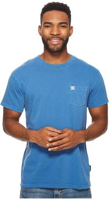 DC Dyed Pocket Crew Shirt Men's Short Sleeve Pullover