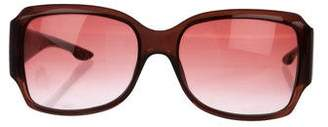 Christian Dior Gradient Square Sunglasses