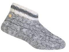 Ralph Lauren Cable Marled Faux Shearling-Lined Bootie Socks