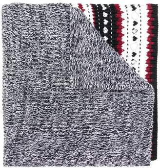 Dondup embellished hem scarf
