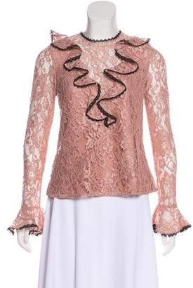 Alexis Bell Sleeve Lace Top