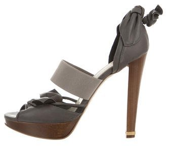 Stella McCartney Vegan Leather Platform Pumps