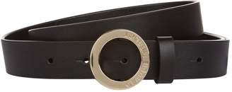Claudie Pierlot Leather Ring Belt
