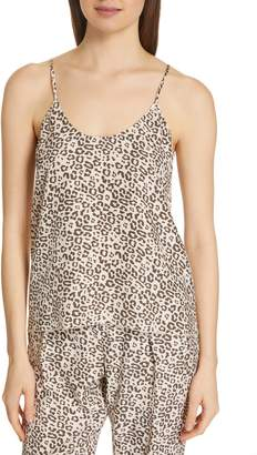ATM Anthony Thomas Melillo Lunar Leopard Silk Camisole