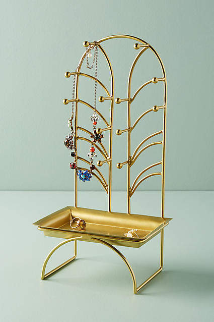 Anthropologie Art Nouveau Jewelry Stand