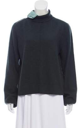 Celine Wool-Blend Turtleneck Sweater