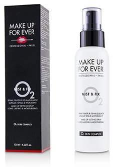 Make Up For Ever Mist & Fix Make Up Setting Spray (O2 Skin Complex) 125ml/4.22oz