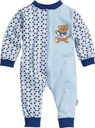 Playshoes Unisex Baby Overall Jersey Bear Sleepsuit,(Manufacturer Size:86)
