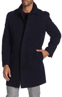 Hart Schaffner Marx Wool Blend Topper Overcoat
