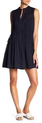 Derek Lam 10 Crosby Denim Sleeveless Dress with Tie Detail