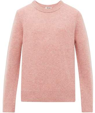 Acne Studios Kai Wool Sweater - Mens - Pink