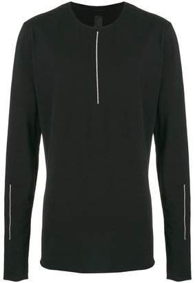 Thom Krom long-sleeve fitted top