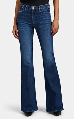Frame Women's Le High Flared Jeans - Blue
