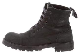 Chanel Shearling-Lined Ankle Boots
