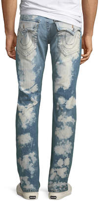 True Religion Men's Straight-Fit Acid Blotch Jeans