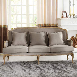Lark Manor Milieu Classic French Sofa