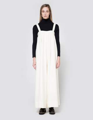 Graphpaper Gaucho One Piece in Off White