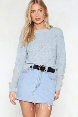 Nasty Gal See to Knit Relaxed Sweater