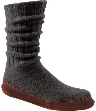 Acorn Slipper Sock - Women's