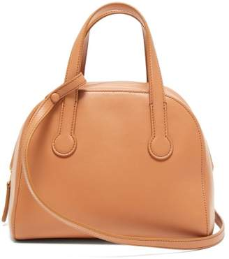 The Row Sporty Leather Bowling Bag - Womens - Coral