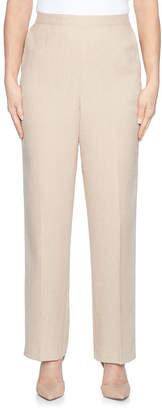 Alfred Dunner La Dolce Vita Flat Front Pants
