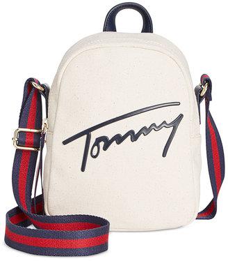 Tommy Hilfiger Tommy Script Mini Crossbody $88 thestylecure.com