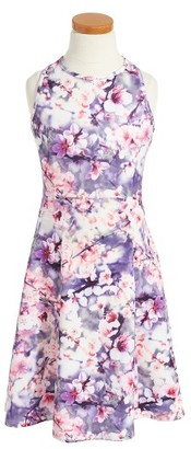 Girl's Penelope Tree Jessica Cherry Blossom Dress $49 thestylecure.com