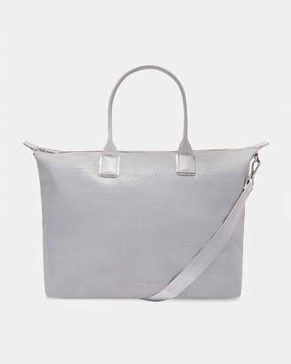 Ted Baker CRESSIE Reflective large nylon tote bag