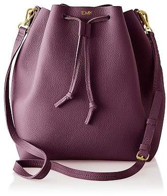 Daily Leather Bucket Bag