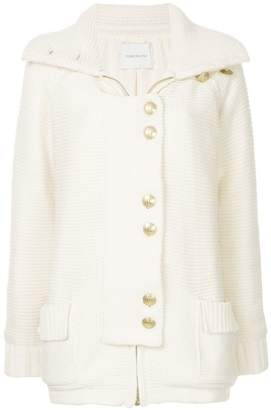 Pierre Balmain decorative button cardigan coat