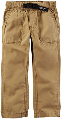 Carter's Boys Mid Rise Straight Pull-On Pants - Preschool