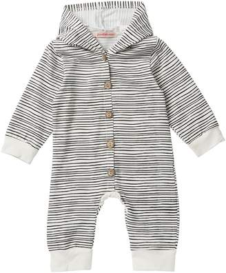 Paulinie Stripe Romper (Baby Girls)